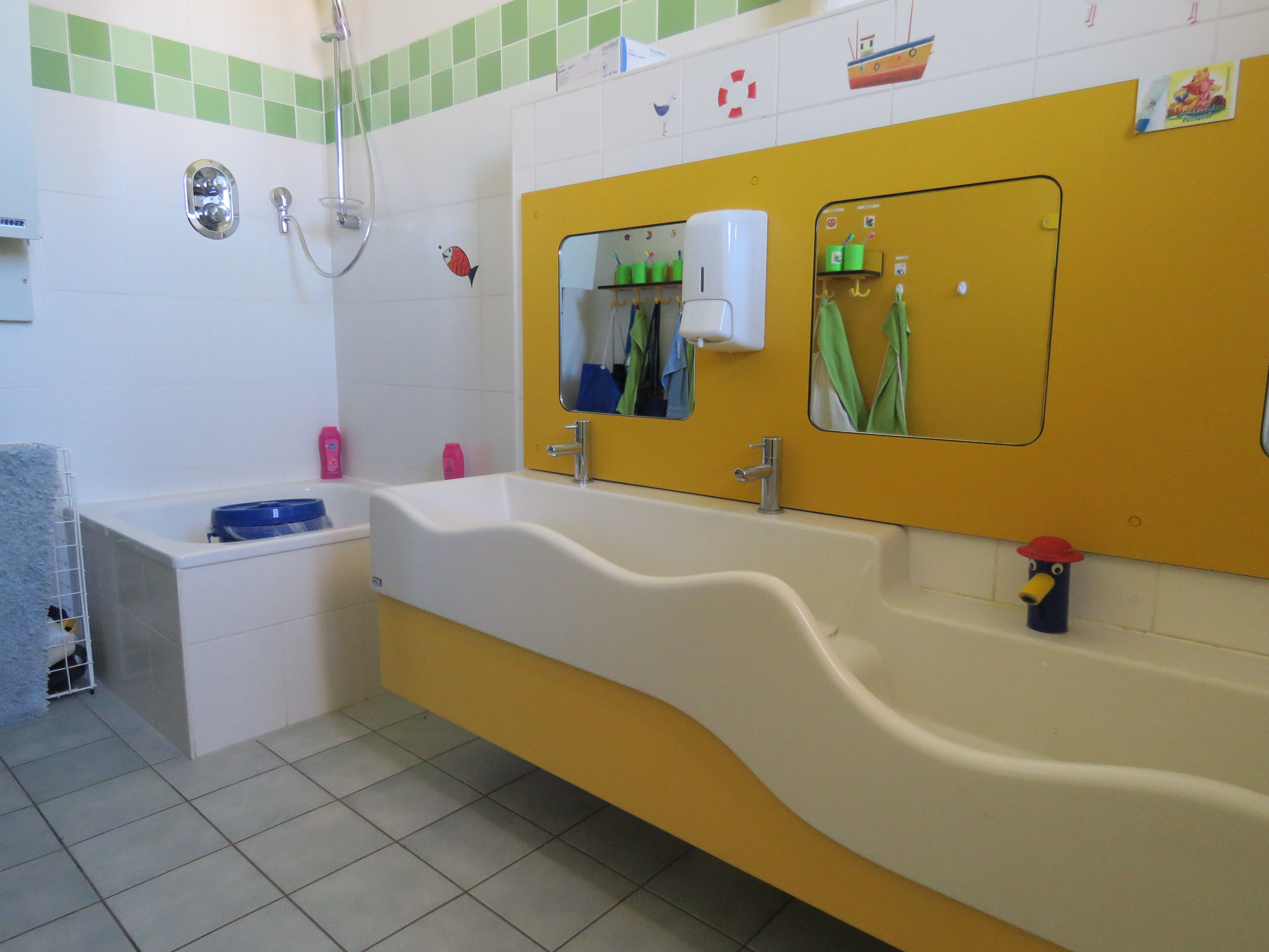Waschraum 2. Etage